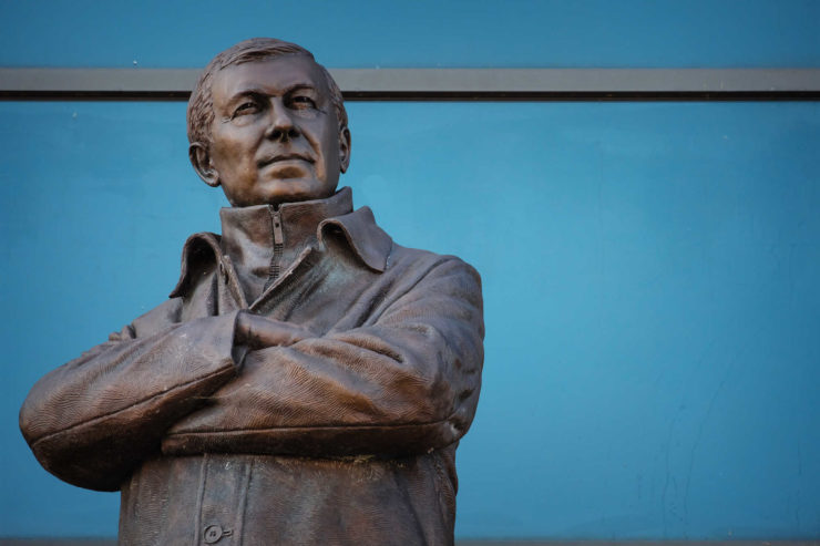 Alex Ferguson bronze statue