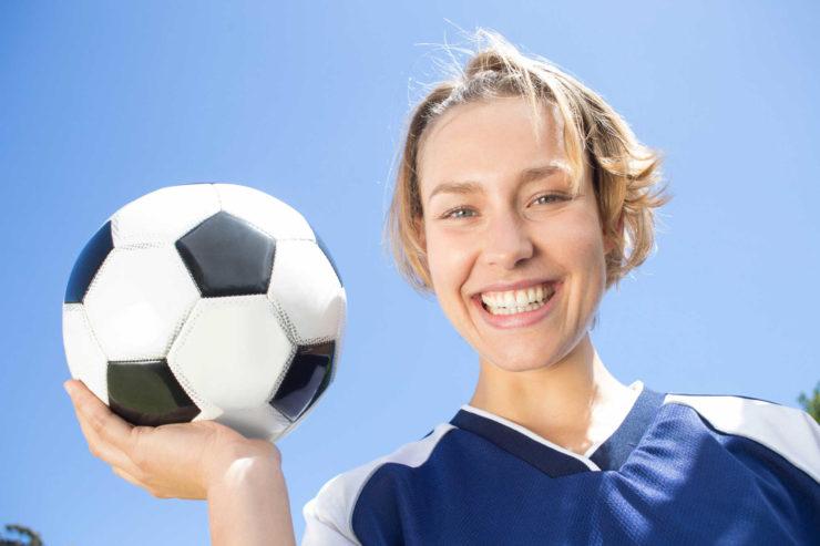 Woman in Football